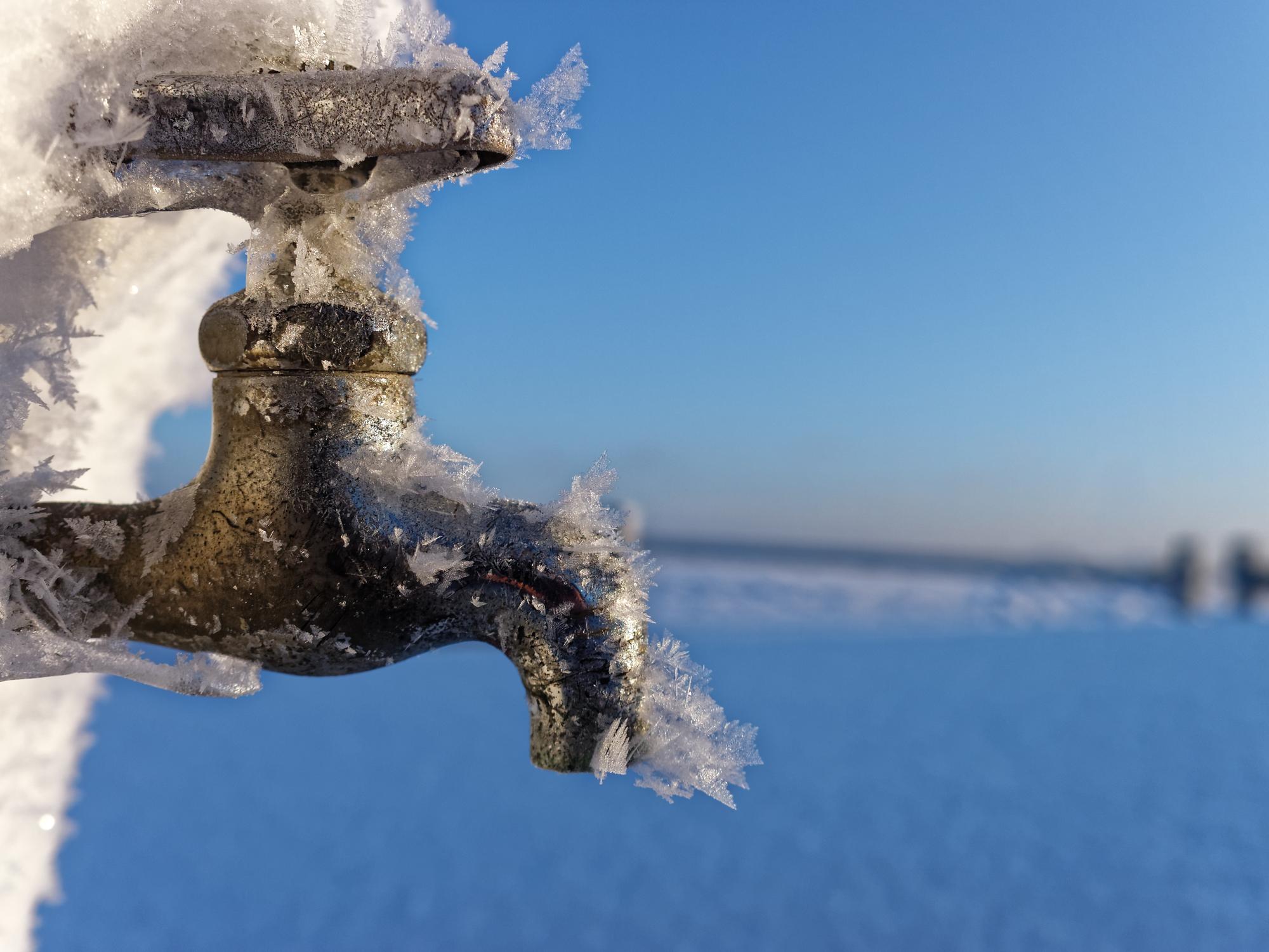 西海市 水道管 凍結