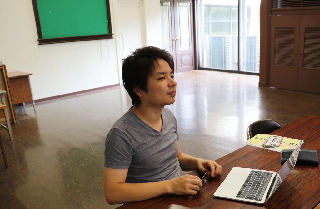 開発者の宮里賢史さん