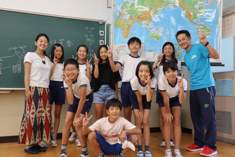 西海市 大串小学校 西彼町 総合学習 SDGs