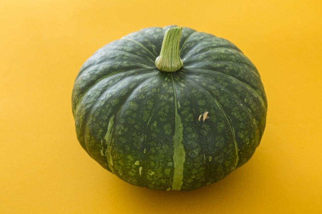 ウエストのおんな、かぼちゃ入刀