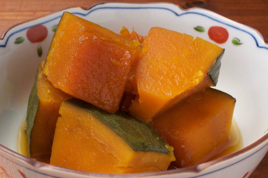 ウエストのおんな、かぼちゃの煮もの