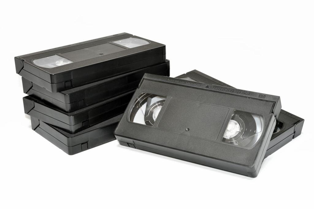 ウエストのおんな、ビデオテープ