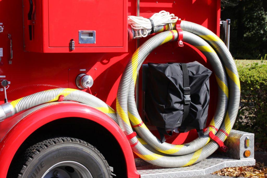 消防車イメージ ホース部